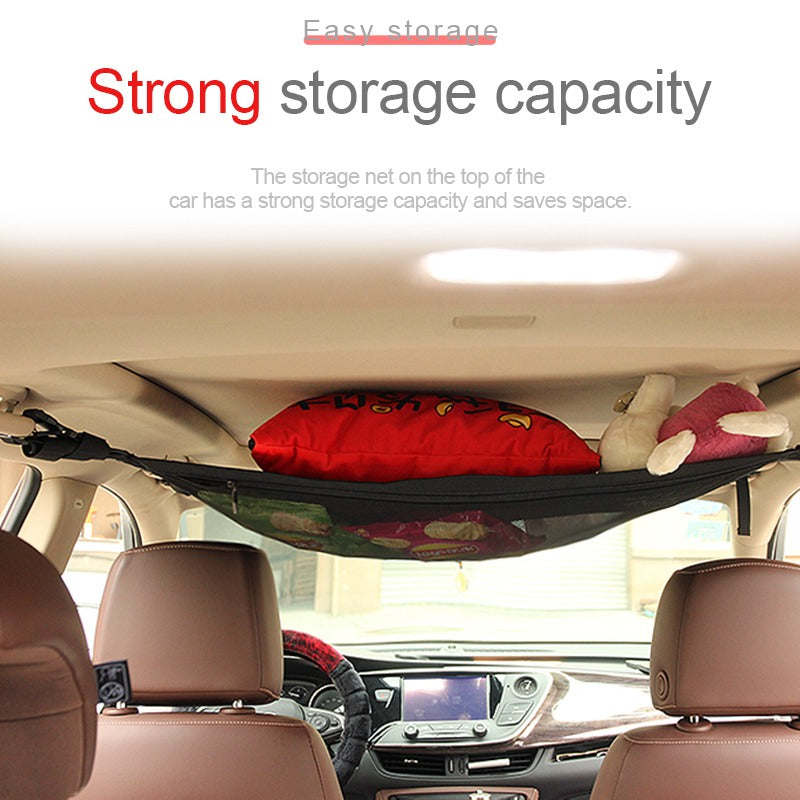 Car Ceiling Roof Storage Nets | SEAMETAL3