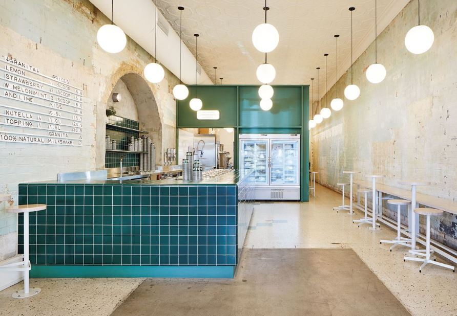 Best Retail Design - Gelato Shop wins 2019 Eat Drink Design Awards