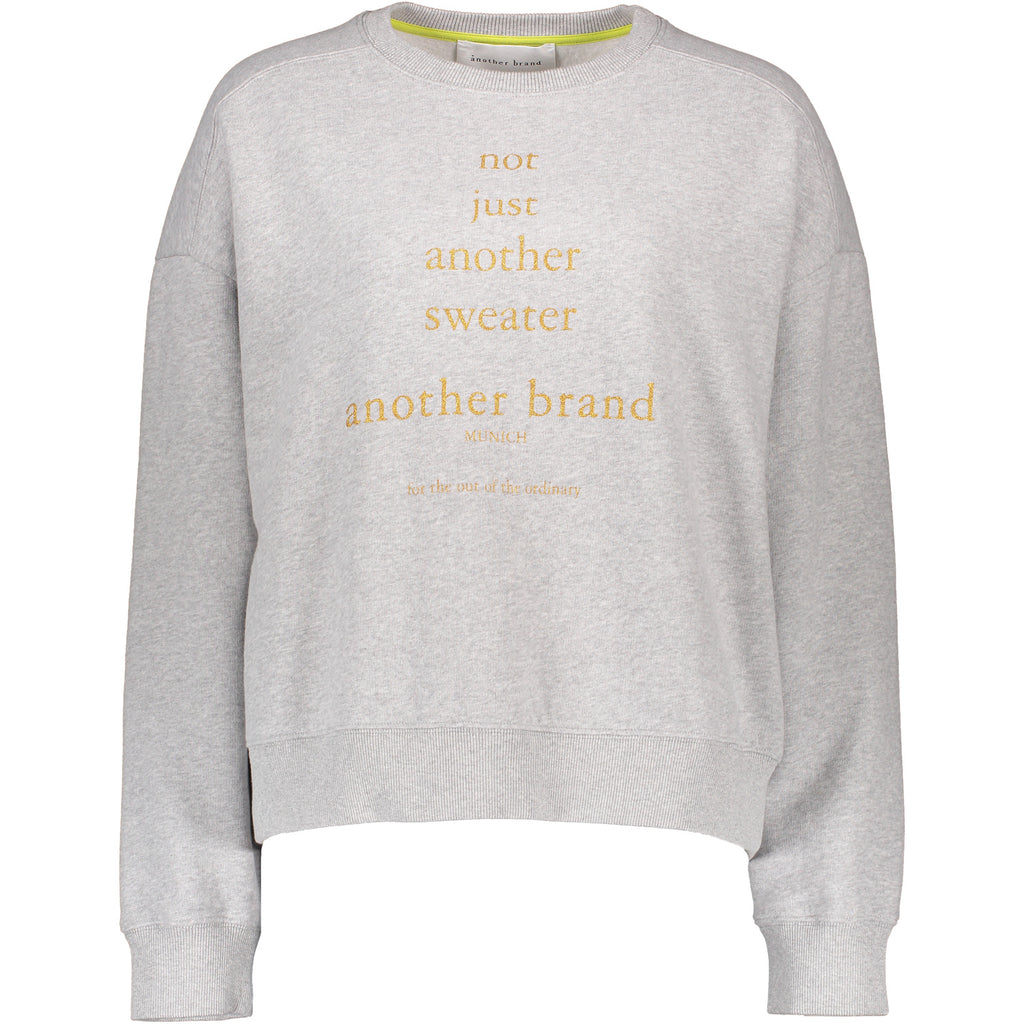Not just Another Sweater - Light Grey Melange