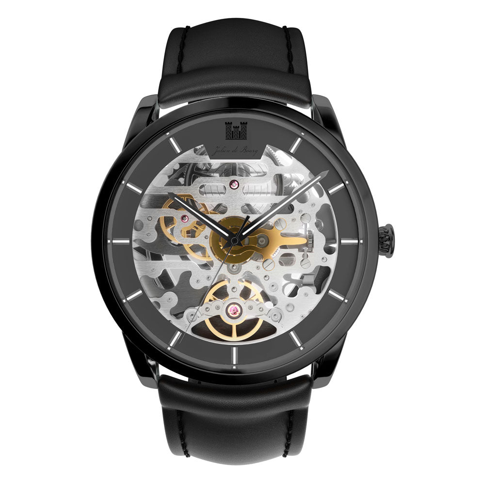 Montrichard All Black Automatic Watch