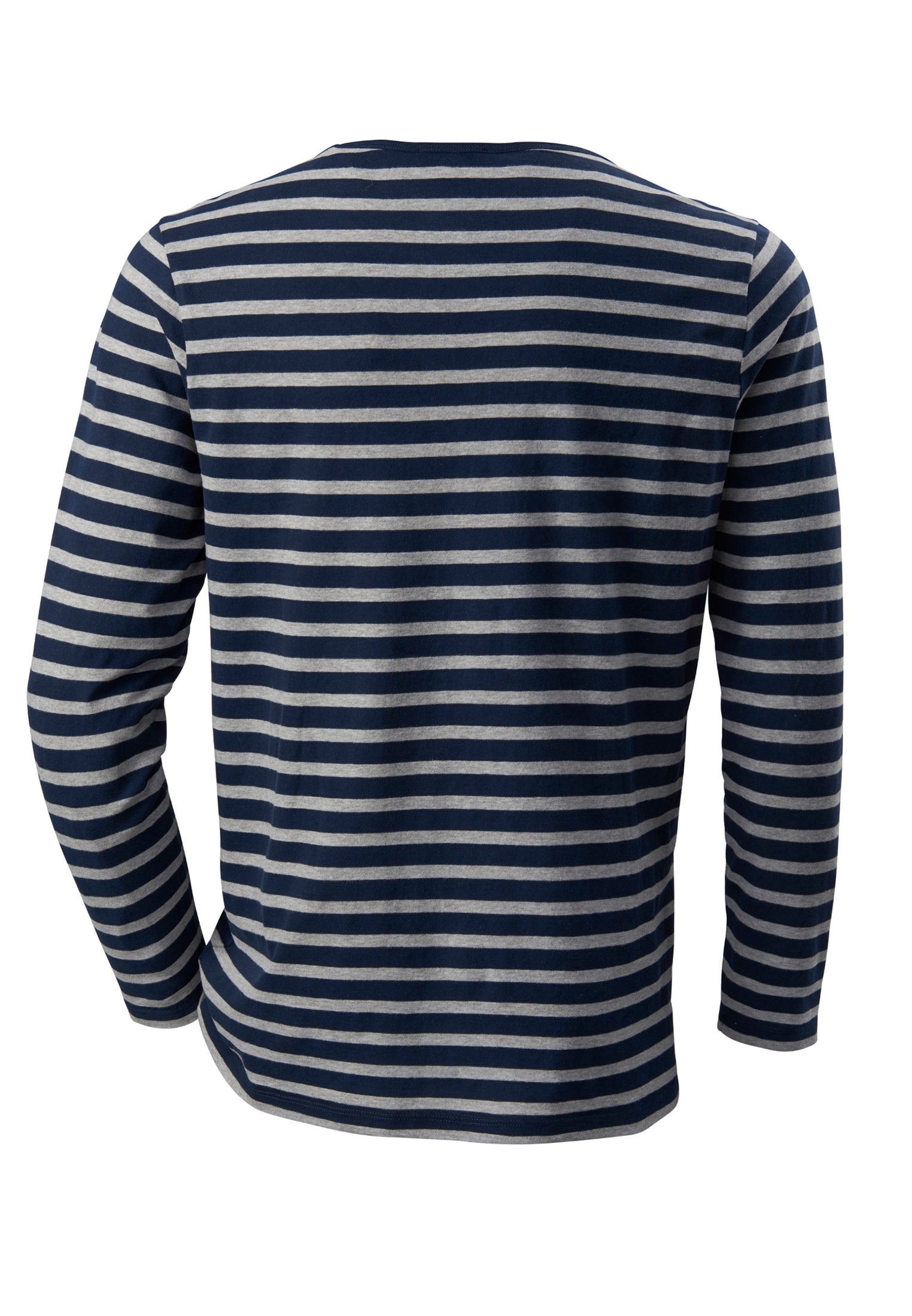 The Longsleeve Stripes Navy/Grey