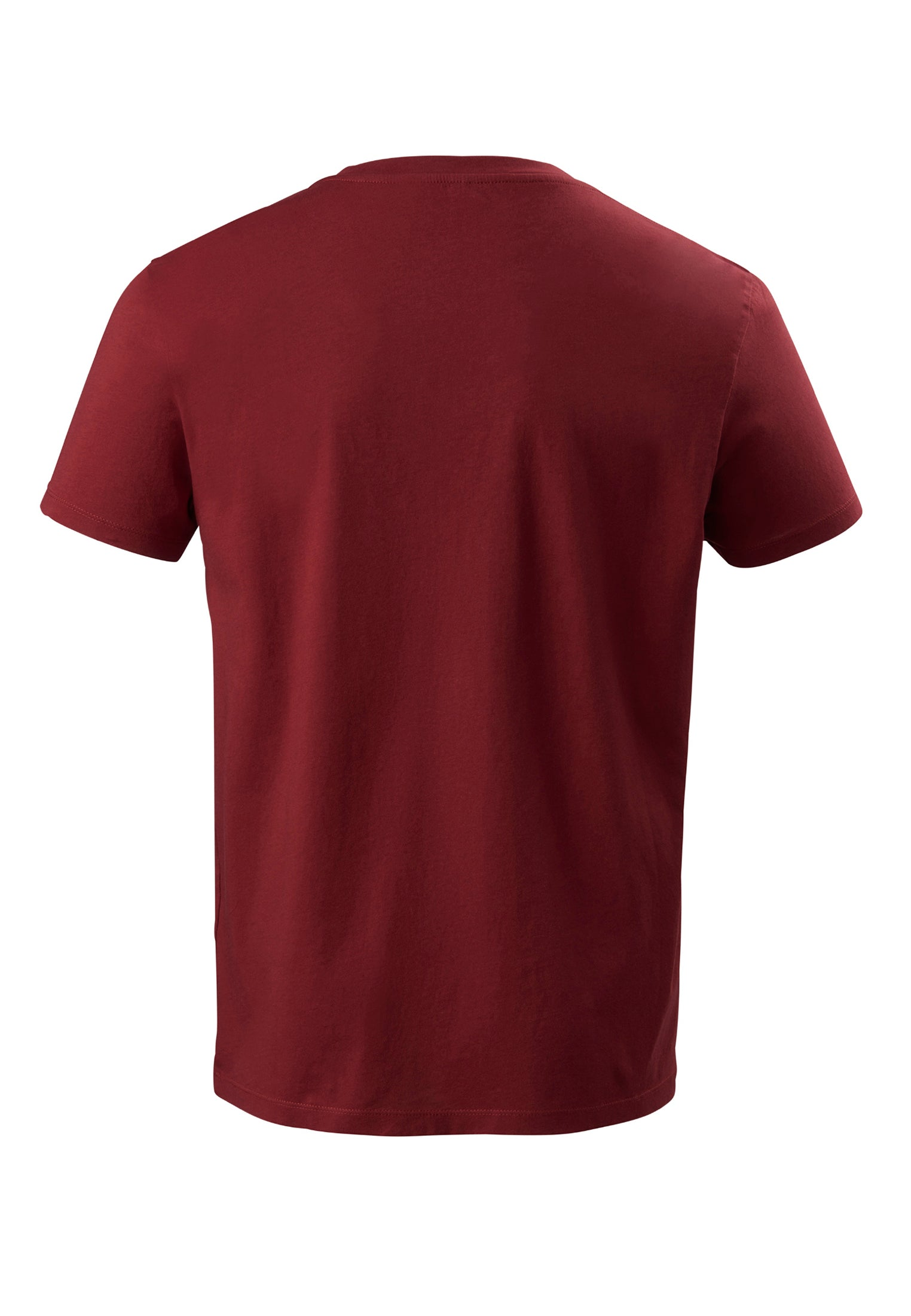 The V-Neck T-Shirt Bordeaux