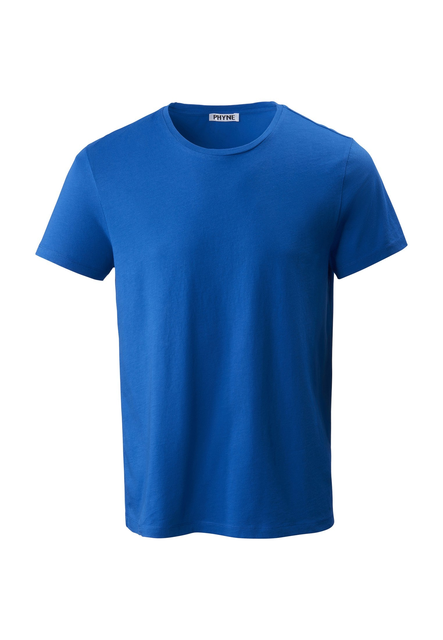 The Round Neck T-Shirt Electric Blue