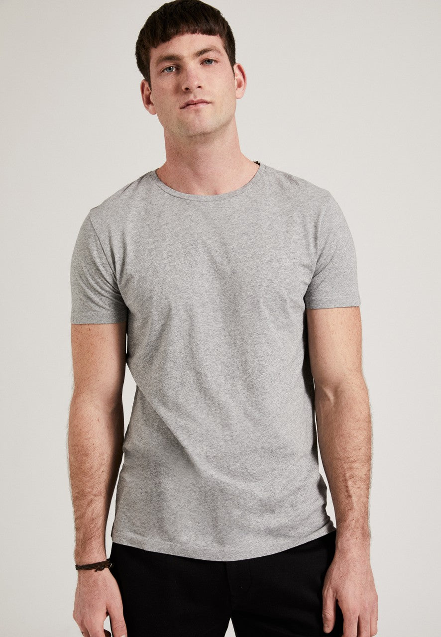 The Round Neck T-Shirt Grey