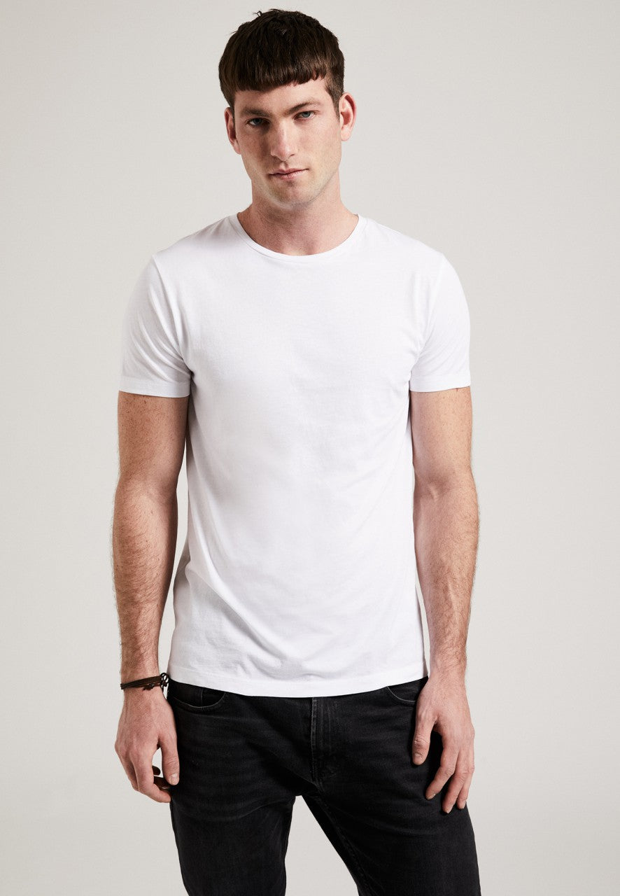 The Round Neck T-Shirt White