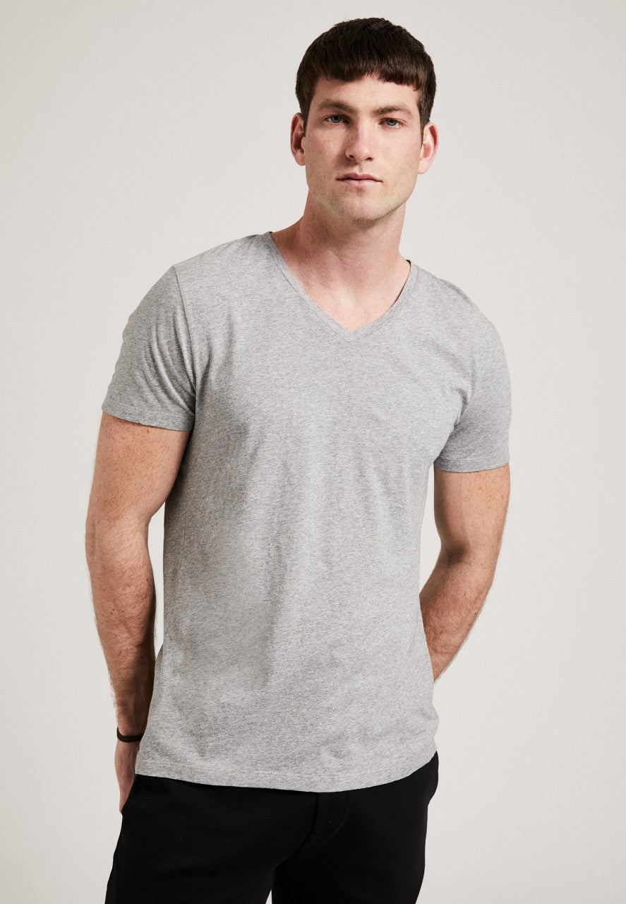 The V-Neck T-Shirt Grey