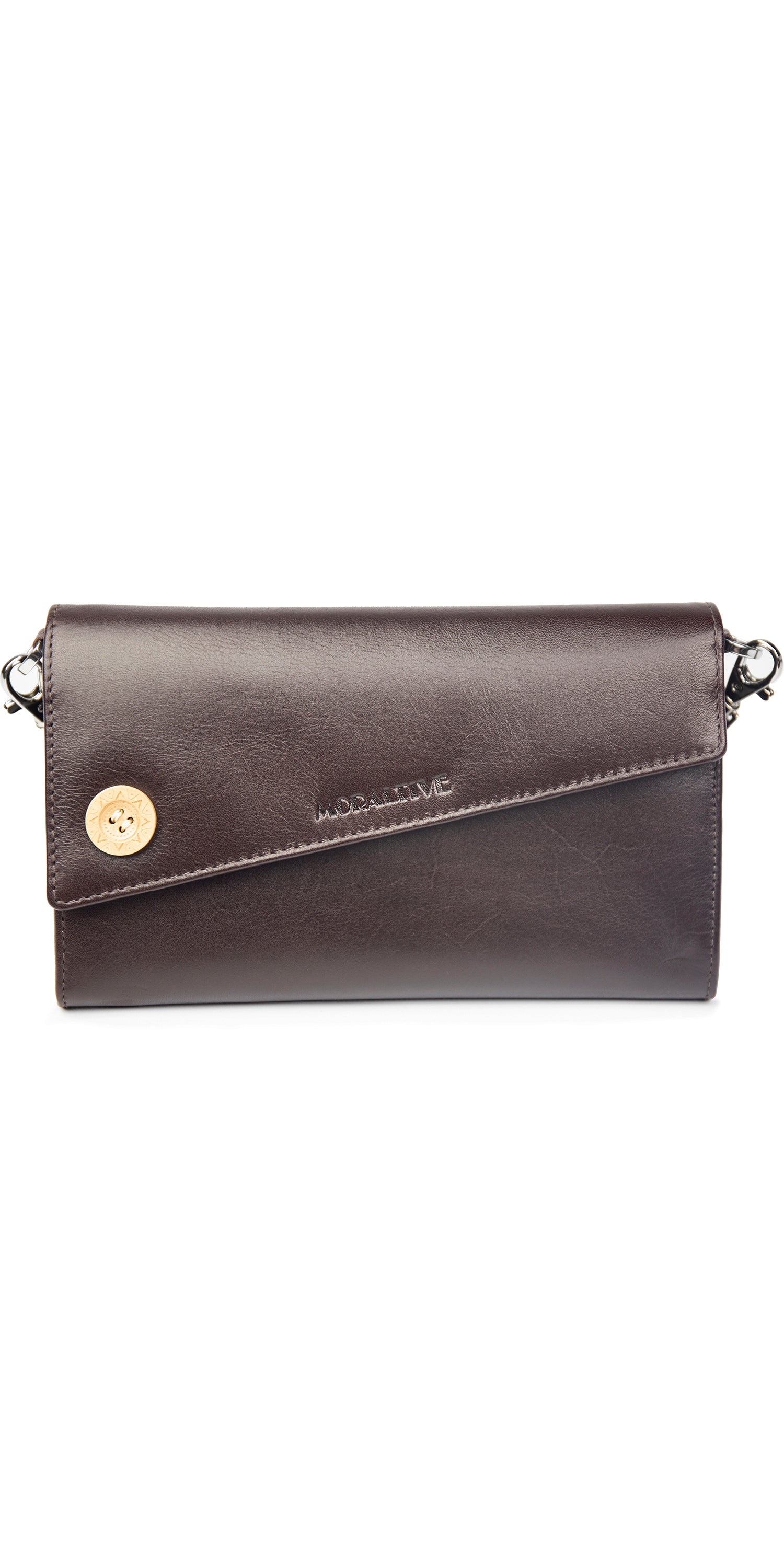 Moraltive Clutch Wallet Brown