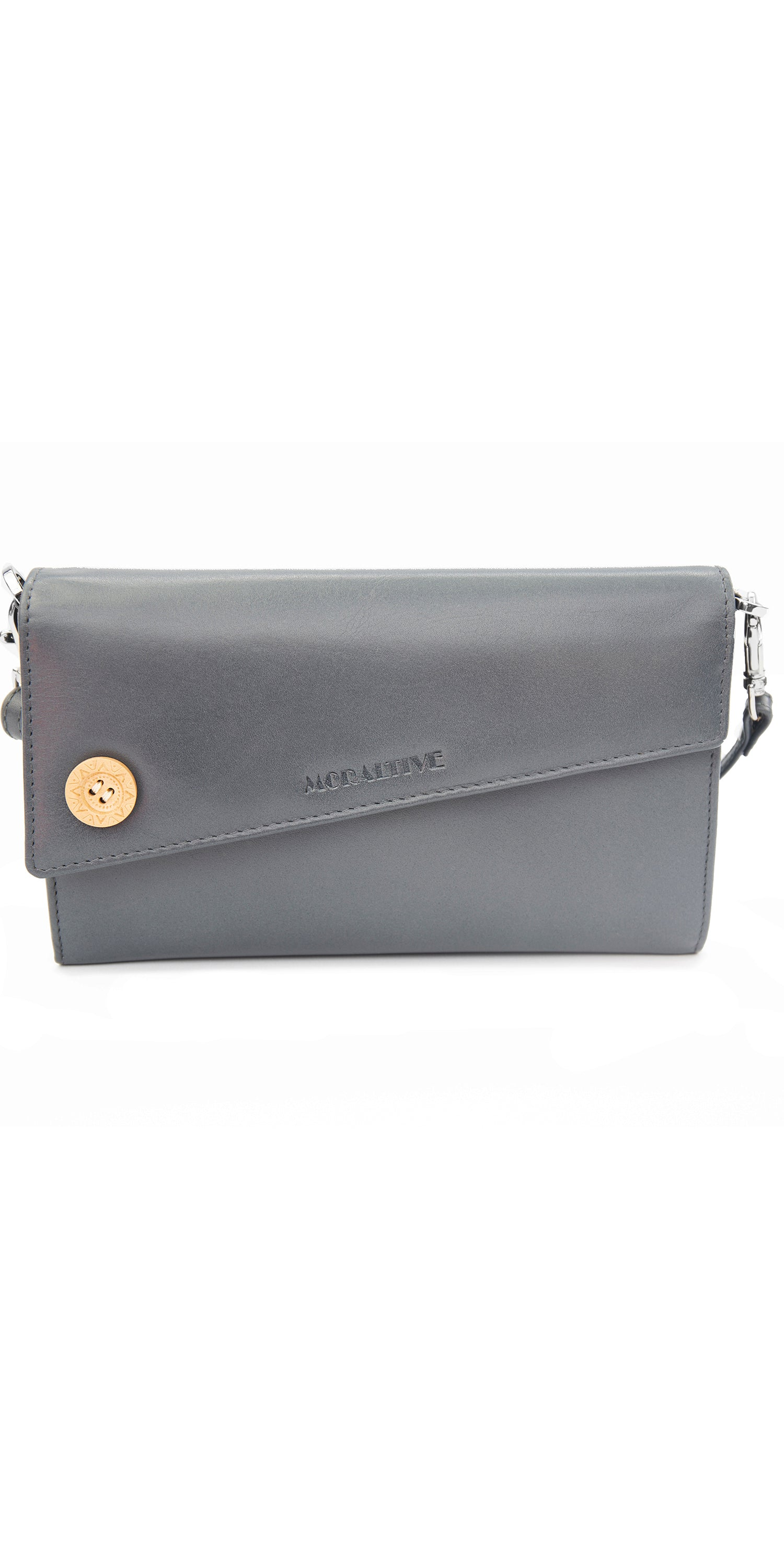 Moraltive Clutch Wallet Grey