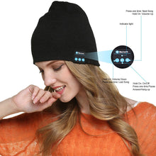 Load image into Gallery viewer, Bluetooth Headphone Winter Hat