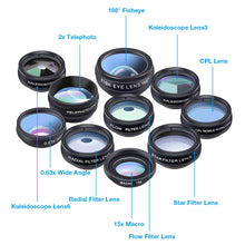 Load image into Gallery viewer, 10 in 1 Clip-on Lens Kit