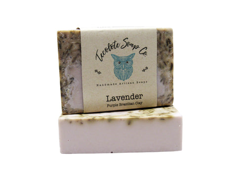 Lavender Purple Brazilian Clay Soap