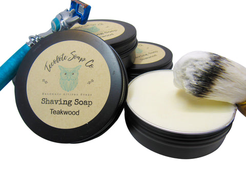 Teakwood Shaving Soap