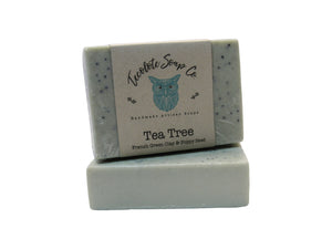 Tea Tree French Green Clay Soap