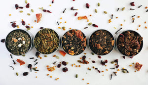 Jayida Che Herbal Tea Spot Fall and Winter Sampler Box
