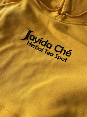 Jayida Che Herbal Tea Spot Turmeric Yellow / Small Sweatshirt