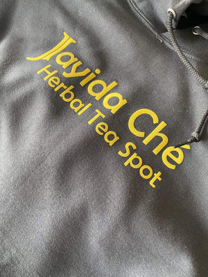 Jayida Che Herbal Tea Spot Activated Charcoal / Large Sweatshirt (Bold)