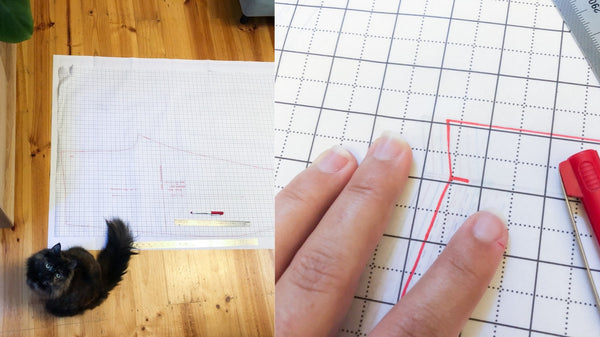 sewing pattern for a linen pant