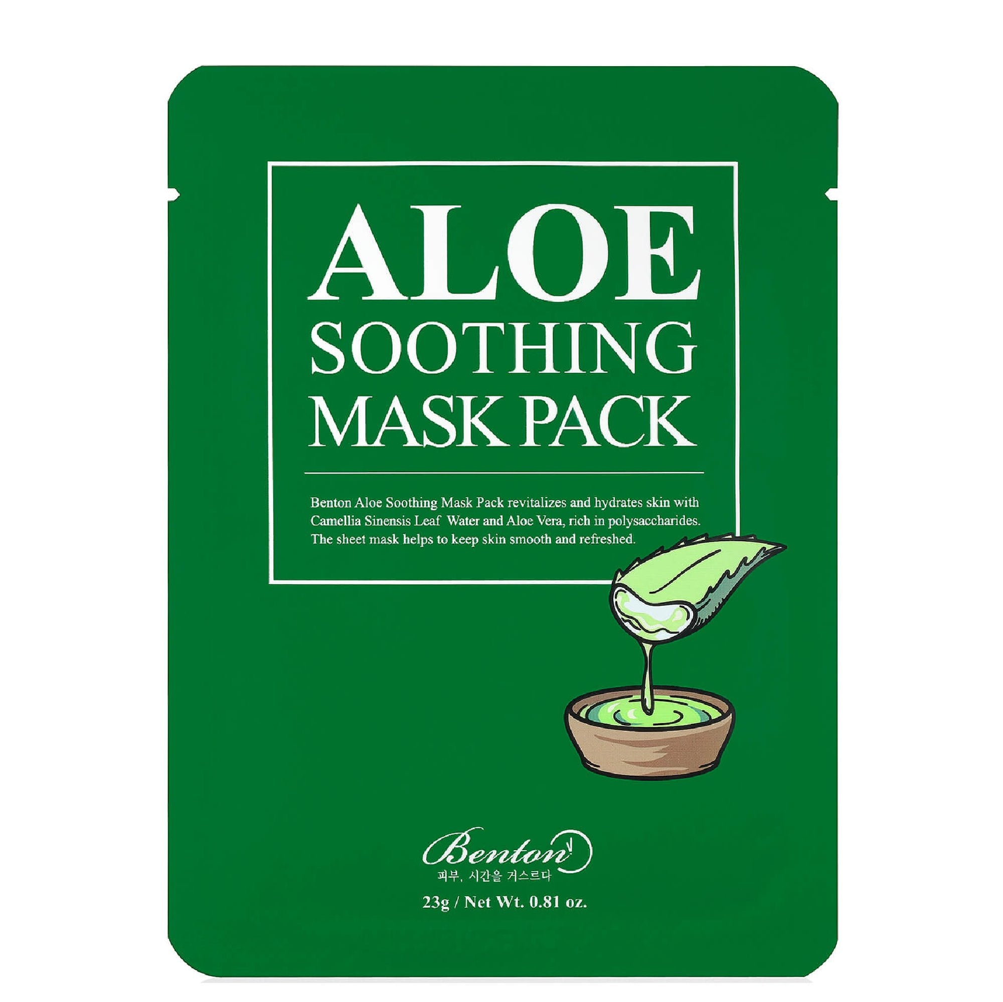 Benton Aloe Soothing Sheet Mask Sheet Mask - Skinspace