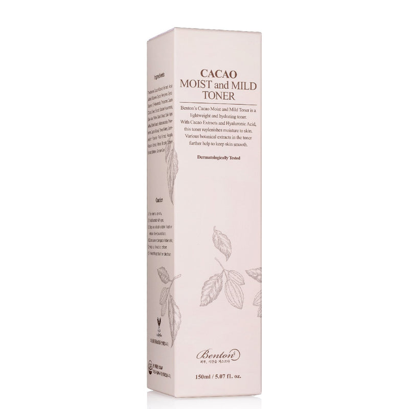 Cacao Moist and Mild Toner (150ml) Toner Benton