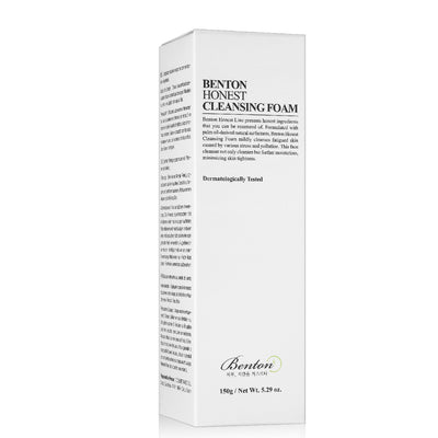 Benton Honest Cleansing Foam (150ml) - Skinspace