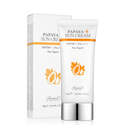 Benton Papaya-S Sun Cream (50g) - Skinspace
