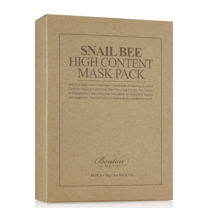 Snail Bee High Content Sheet Mask