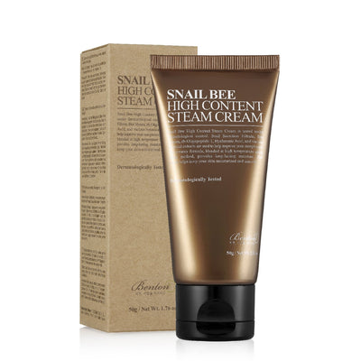 Benton Snail Bee High Content Steam Cream (50g) Moisturiser - Skinspace