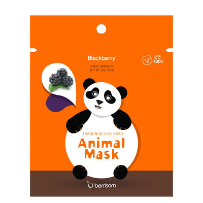 Berrisom Animal Sheet Mask - Panda - Skinspace