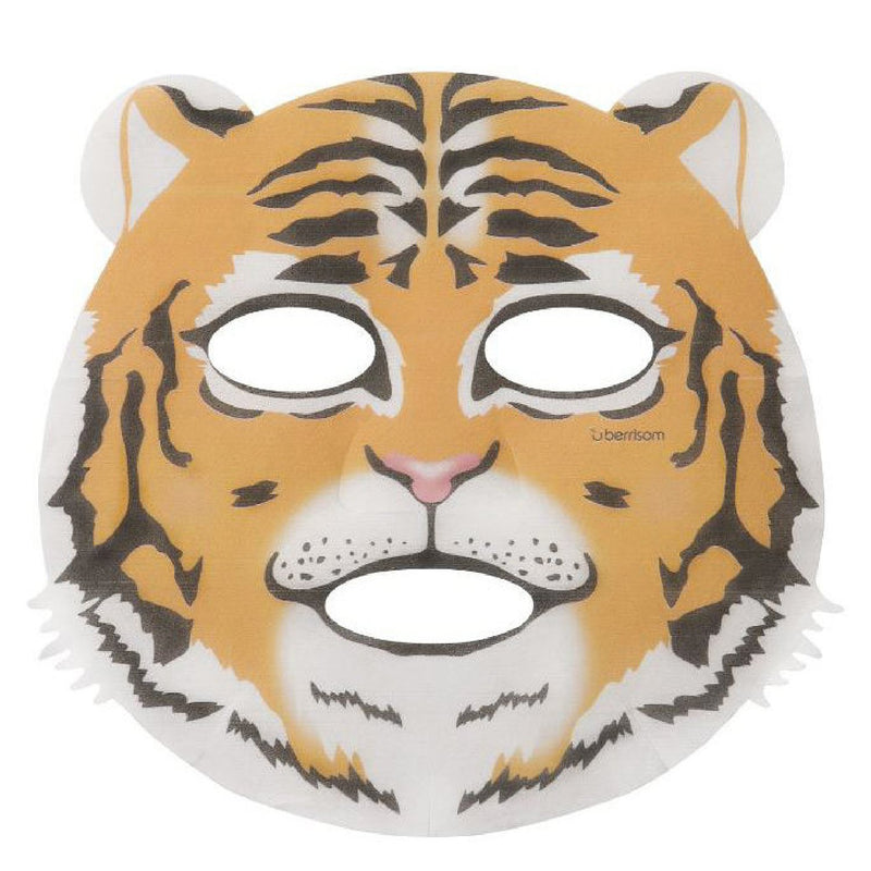 Berrisom Animal Sheet Mask (Tiger) Sheet Mask - Skinspace