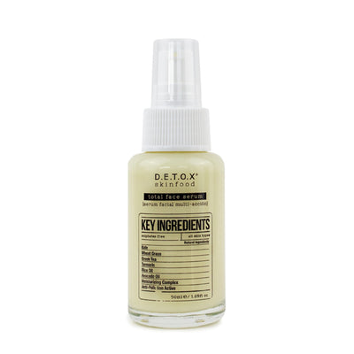 Detox Skinfood Total Face Serum (50ml) Serum - Skinspace