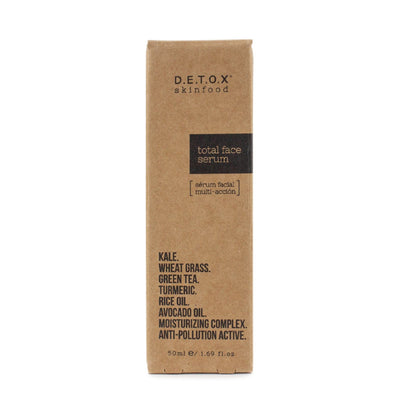Detox Skinfood Total Face Serum (50ml) - Skinspace