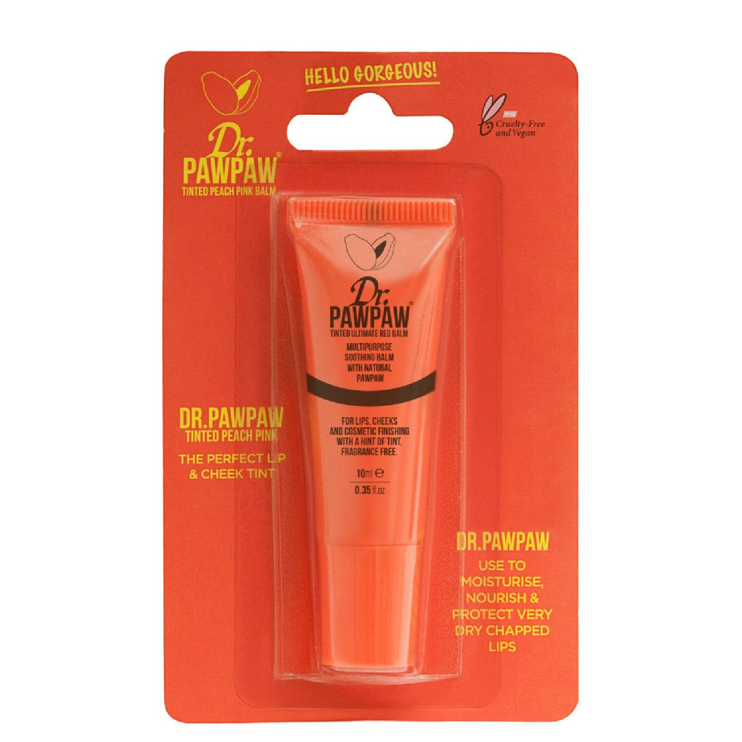 Tinted Peach Pink Balm (10ml)