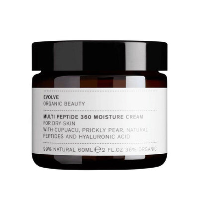 Multi Peptide 360 Moisture Cream (60ml) Moisturiser Evolve
