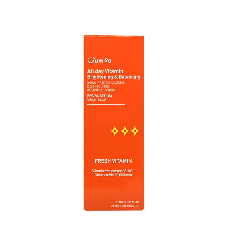 All Day Vitamin Brightening & Balancing Facial Serum (30ml) Serum Jumiso