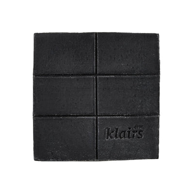 Gentle Black Charcoal Soap (100g) Cleansing Bar Klairs