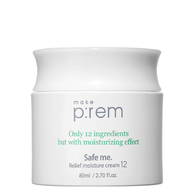 Safe Me. Relief Moisture Cream 12 (80ml) Moisturiser Make P:rem