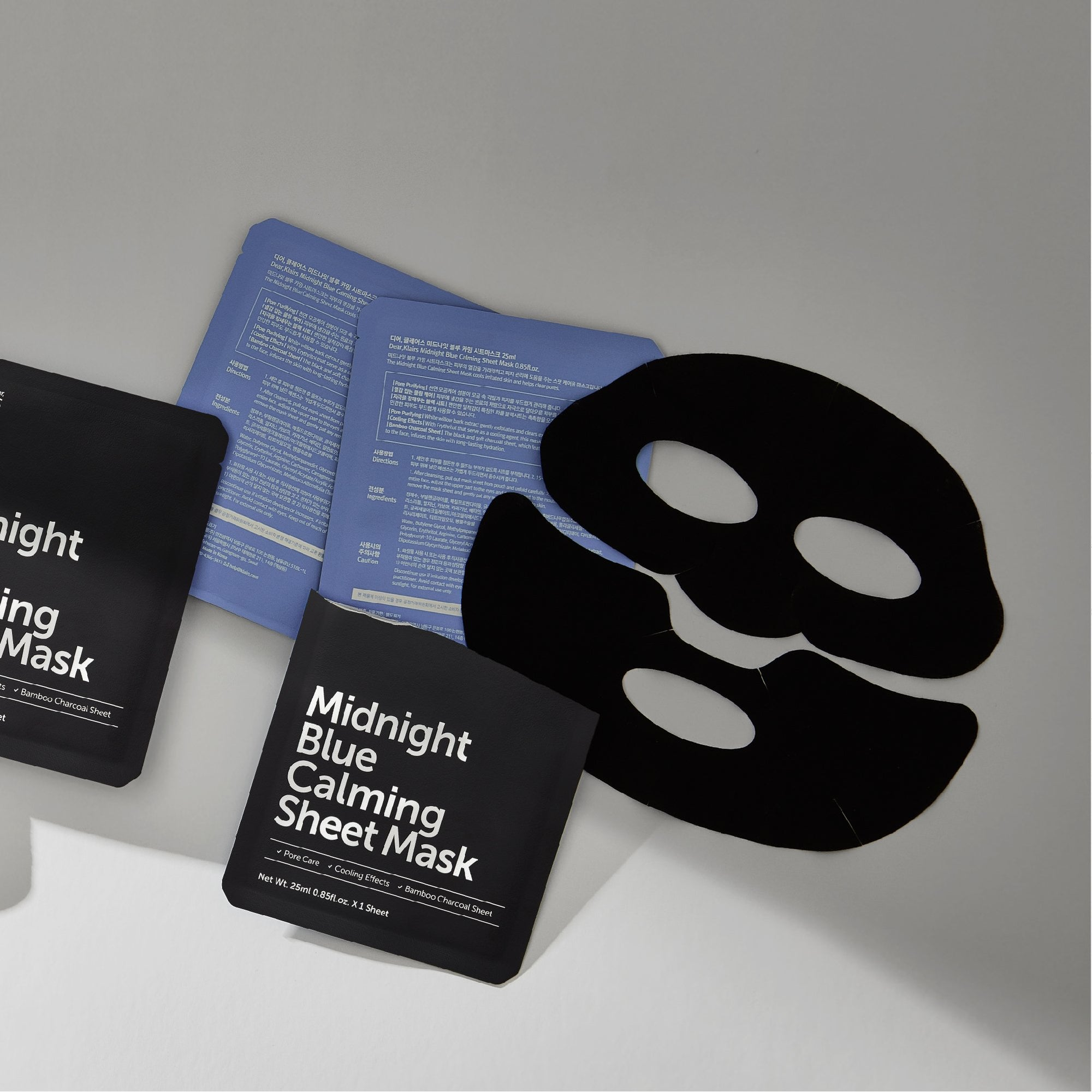 Midnight Blue Calming Sheet Mask by Klairs #15