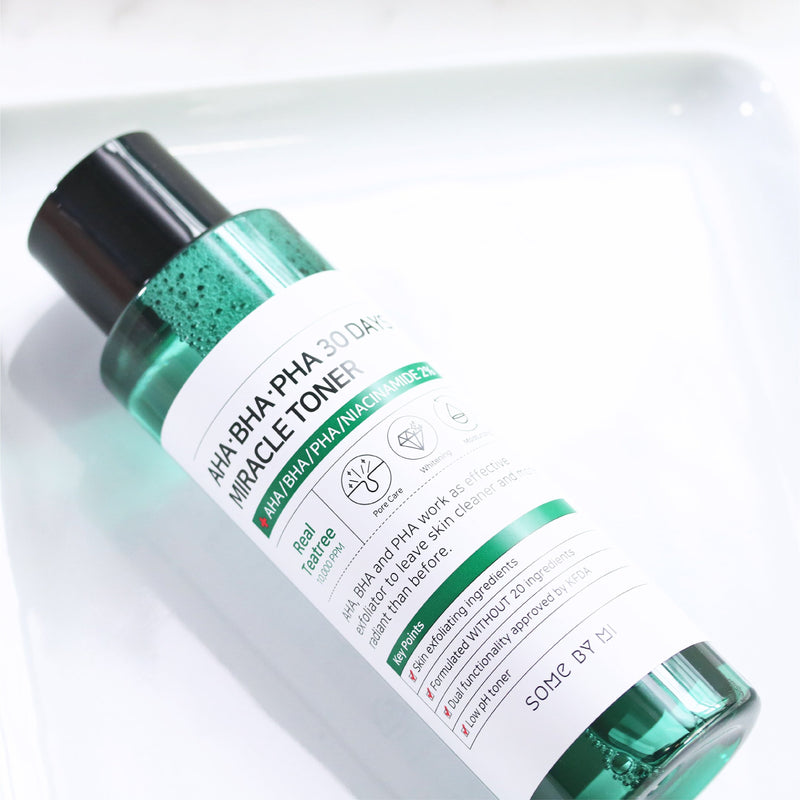 AHA, BHA, PHA 30 Days Miracle Toner (150ml) Toner SOME BY MI