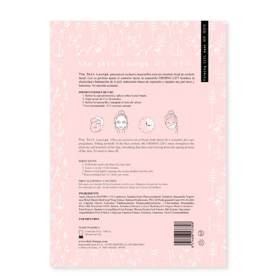 The Skin Lounge Firming Lift Sheet Mask Sheet Mask - Skinspace
