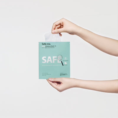 Make P:rem Safe Me. Relief Moisture Mask 15 Sheet Mask - Skinspace