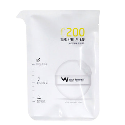 Wish Formula The C200 Bubble Peeling Pad - Skinspace