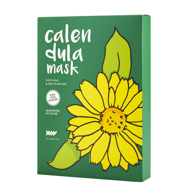 Xoy Calendula Sheet Mask - Skinspace