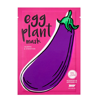 Xoy Eggplant Sheet Mask - Skinspace
