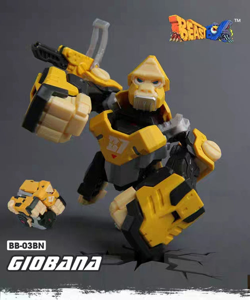 [In Stock] 52Toys BB-03BN Giobana