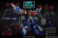 [Ready to Ship] Civil WarriorCW CW-01 General Grant - Addicted2Anime Singapore