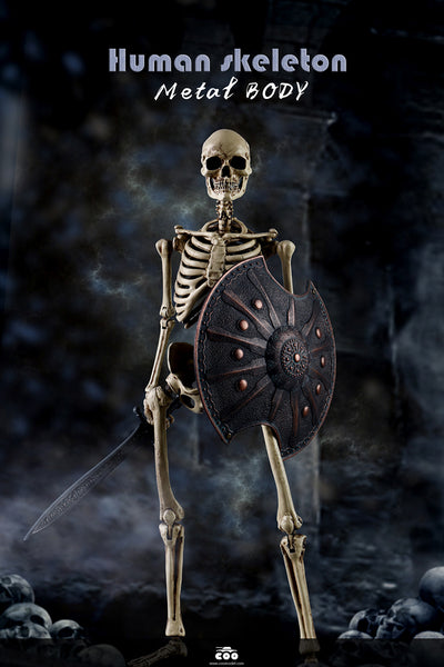 [Ready to Ship] Coomodel Human Skeleton (diecast)