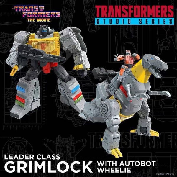 [In Stock] Hasbro SS86 Grimlock (with Autobot Wheelie)