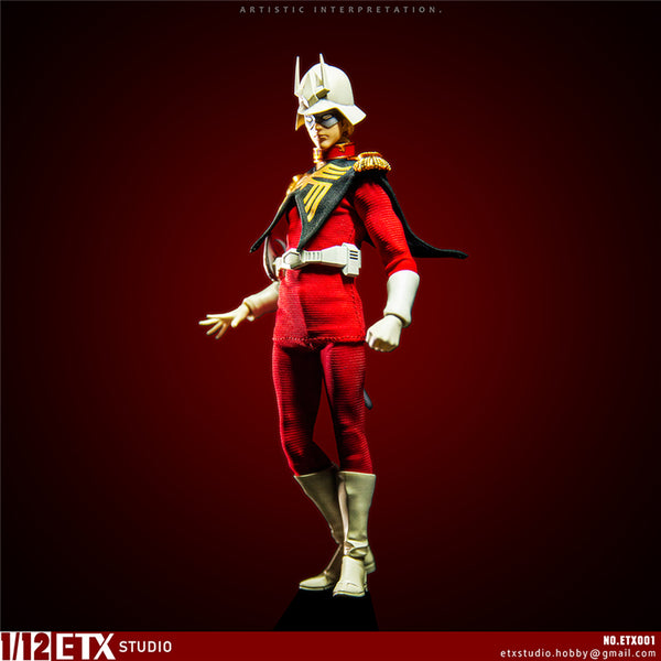 [Pre Order] ETX Studios ETX001 The Red Comet Char Anazable 1:12