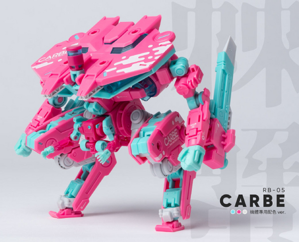 [Ready to Ship] Robot Build RB-05 Pink Crabe