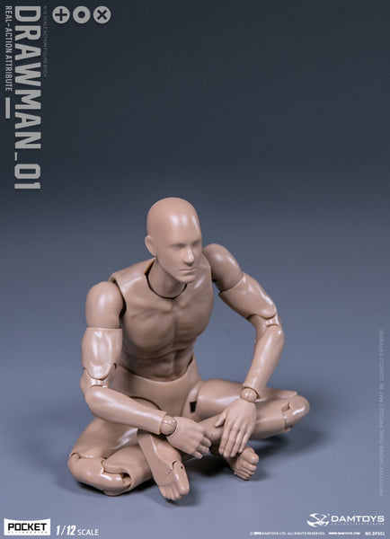[Ready to Ship] Damtoys Funman Series Drawman 1:12